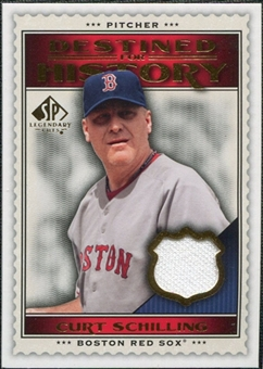 2009 Upper Deck SP Legendary Cuts Destined for History Memorabilia #CS Curt Schilling
