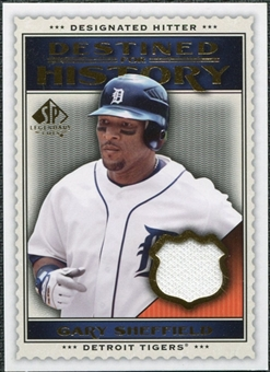 2009 Upper Deck SP Legendary Cuts Destined for History Memorabilia #GS Gary Sheffield