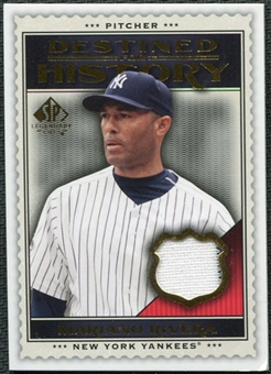 2009 Upper Deck SP Legendary Cuts Destined for History Memorabilia #MR Mariano Rivera