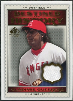 2009 Upper Deck SP Legendary Cuts Destined for History Memorabilia #VG Vladimir Guerrero