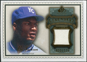 2009 Upper Deck SP Legendary Cuts Legendary Memorabilia #BO Bo Jackson /125