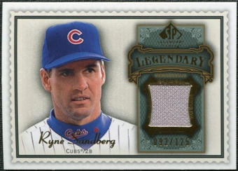 2009 Upper Deck SP Legendary Cuts Legendary Memorabilia #RS2 Ryne Sandberg /125