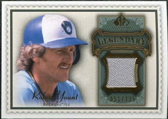 2009 Upper Deck SP Legendary Cuts Legendary Memorabilia #RY Robin Yount /125