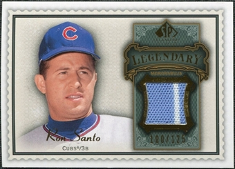 2009 Upper Deck SP Legendary Cuts Legendary Memorabilia #SA Ron Santo /125