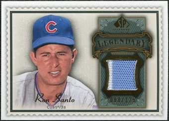 2009 Upper Deck SP Legendary Cuts Legendary Memorabilia #SA2 Ron Santo /125
