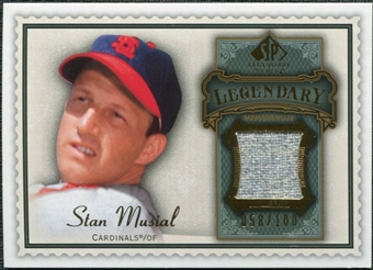 2009 Upper Deck SP Legendary Cuts Legendary Memorabilia #SM3 Stan Musial /100