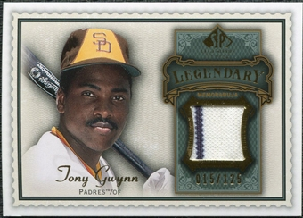 2009 Upper Deck SP Legendary Cuts Legendary Memorabilia #TG Tony Gwynn /125