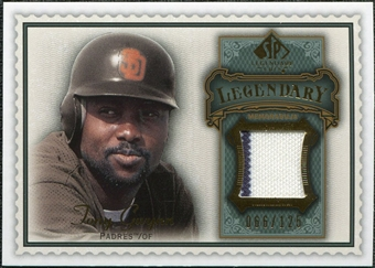 2009 Upper Deck SP Legendary Cuts Legendary Memorabilia #TG2 Tony Gwynn /125