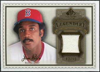 2009 Upper Deck SP Legendary Cuts Legendary Memorabilia Brown #JR Jim Rice /50
