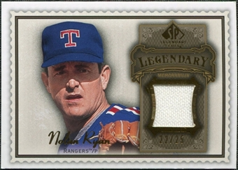 2009 Upper Deck SP Legendary Cuts Legendary Memorabilia Brown #NR2 Nolan Ryan /50