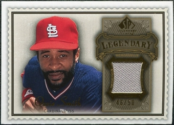 2009 Upper Deck SP Legendary Cuts Legendary Memorabilia Brown #OS2 Ozzie Smith /50