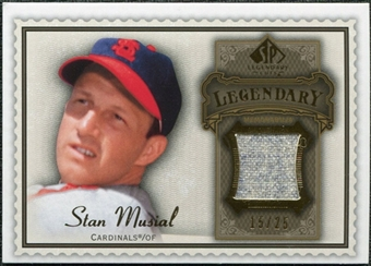 2009 Upper Deck SP Legendary Cuts Legendary Memorabilia Brown #SM3 Stan Musial /50