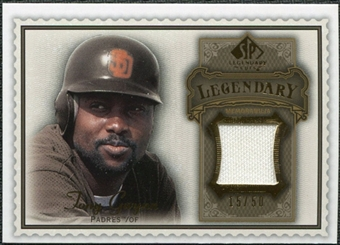 2009 Upper Deck SP Legendary Cuts Legendary Memorabilia Brown #TG2 Tony Gwynn /50