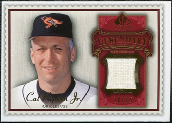 2009 Upper Deck SP Legendary Cuts Legendary Memorabilia Red #CR Cal Ripken Jr. /75