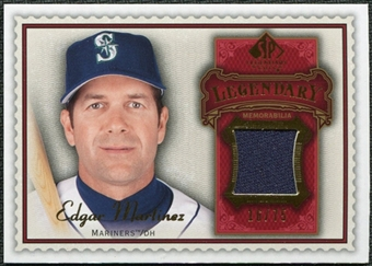 2009 Upper Deck SP Legendary Cuts Legendary Memorabilia Red #EM Edgar Martinez /75