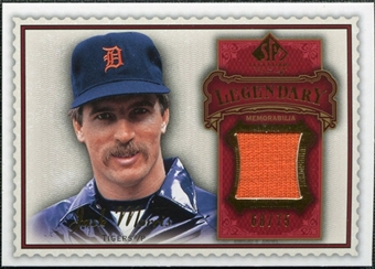2009 Upper Deck SP Legendary Cuts Legendary Memorabilia Red #MO Jack Morris /75
