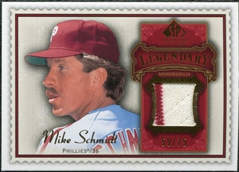 2009 Upper Deck SP Legendary Cuts Legendary Memorabilia Red #MS Mike Schmidt /75
