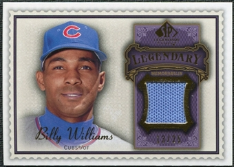2009 Upper Deck SP Legendary Cuts Legendary Memorabilia Violet #BW Billy Williams /25