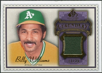 2009 Upper Deck SP Legendary Cuts Legendary Memorabilia Violet #BW3 Billy Williams /25