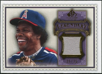 2009 Upper Deck SP Legendary Cuts Legendary Memorabilia Violet #CA2 Rod Carew /25