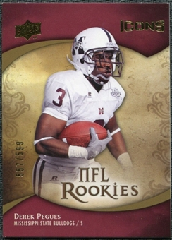 2009 Upper Deck Icons #127 Derek Pegues /599