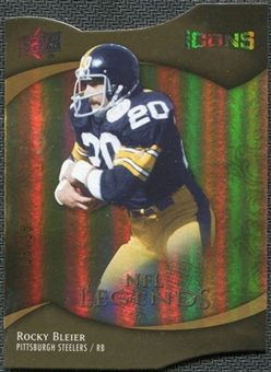 2009 Upper Deck Icons Gold Holofoil Die Cut #174 Rocky Bleier /25