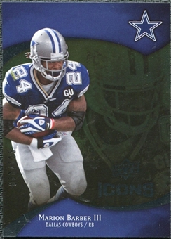 2009 Upper Deck Icons Gold Foil #2 Marion Barber /125