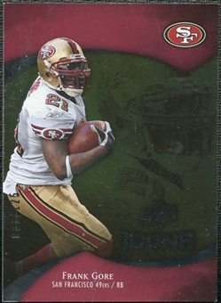 2009 Upper Deck Icons Gold Foil #20 Frank Gore /125