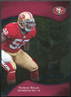 2009 Upper Deck Icons Gold Foil #21 Patrick Willis /125