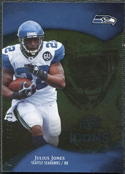 2009 Upper Deck Icons Gold Foil #23 Julius Jones /125