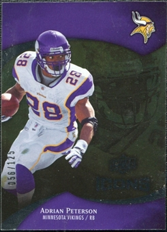 2009 Upper Deck Icons Gold Foil #34 Adrian Peterson /125
