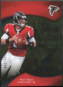 2009 Upper Deck Icons Gold Foil #35 Matt Ryan /125