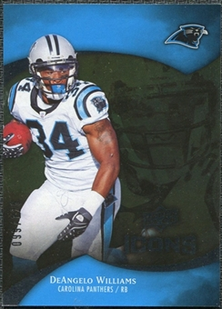 2009 Upper Deck Icons Gold Foil #39 DeAngelo Williams /125