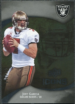 2009 Upper Deck Icons Gold Foil #45 Jeff Garcia /125