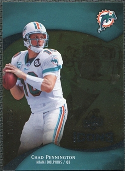 2009 Upper Deck Icons Gold Foil #49 Chad Pennington /125