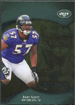 2009 Upper Deck Icons Gold Foil #55 Bart Scott /125