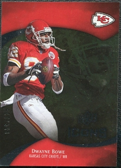 2009 Upper Deck Icons Gold Foil #64 Dwayne Bowe /125