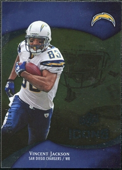 2009 Upper Deck Icons Gold Foil #71 Vincent Jackson /125