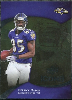 2009 Upper Deck Icons Gold Foil #72 Derrick Mason /125