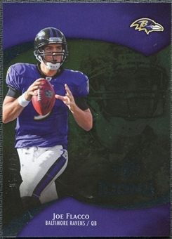 2009 Upper Deck Icons Gold Foil #74 Joe Flacco /125