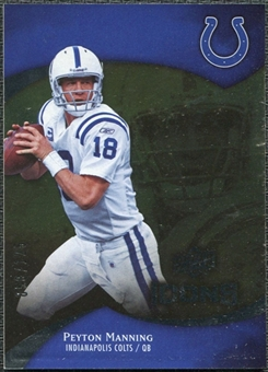 2009 Upper Deck Icons Gold Foil #90 Peyton Manning /125
