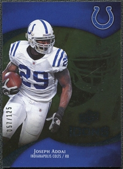 2009 Upper Deck Icons Gold Foil #91 Joseph Addai /125