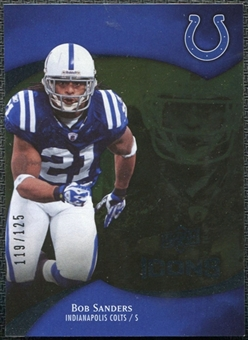 2009 Upper Deck Icons Gold Foil #93 Bob Sanders /125