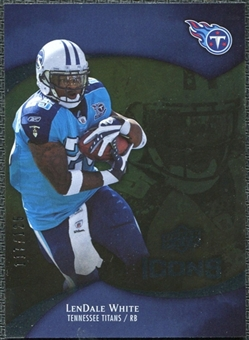 2009 Upper Deck Icons Gold Foil #97 LenDale White /125