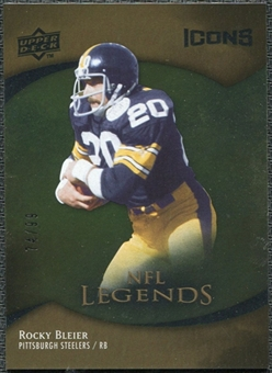 2009 Upper Deck Icons Gold Foil #174 Rocky Bleier /99