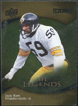 2009 Upper Deck Icons Gold Foil #175 Jack Ham /99