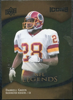 2009 Upper Deck Icons Gold Foil #176 Darrell Green /99