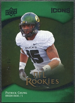 2009 Upper Deck Icons Gold Foil #140 Patrick Chung /99