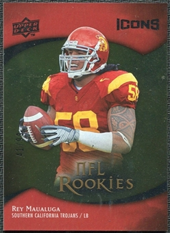 2009 Upper Deck Icons Gold Foil #155 Rey Maualuga /99