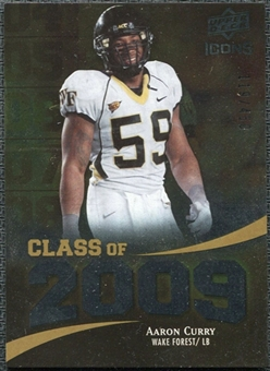 2009 Upper Deck Icons Class of 2009 Silver #AC Aaron Curry /450